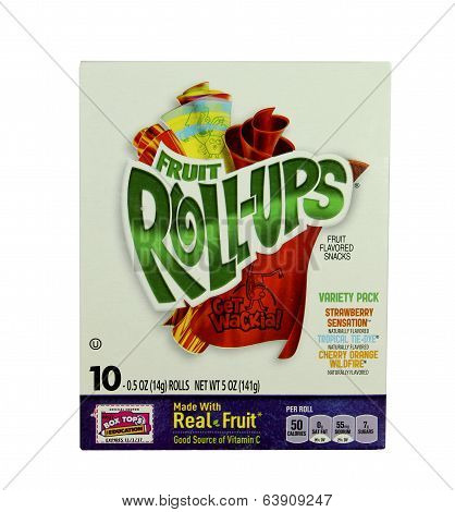 Box Of Fruit Roll-ups