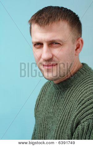 Disdainful Young Man