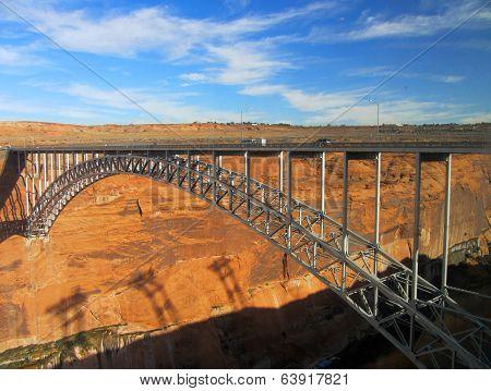 Lake Powell Bridge, Page, Arizona, Usa