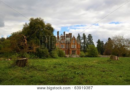 STANSTED HALL, ESSEX UK - APRIL 9, 2014: - Stansted Hall the headquarters of English spiritualist. M