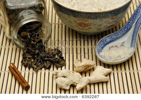 Raw Materials For Chinese Food