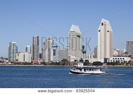 San Diego at Sunny Day