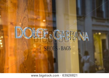 Dolce & Gabbana Shop In Milan