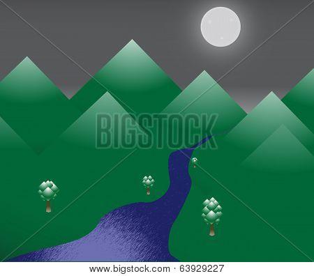 Night Peaks