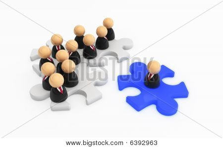Business Symbols, Jigsaw Join