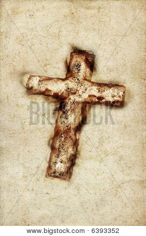 Vintage großen Heiligen Kreuz