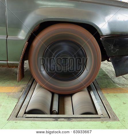 Car Brake Testing System
