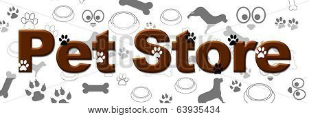 Pet Store Banner