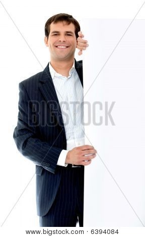 Business Man - Banner Ad