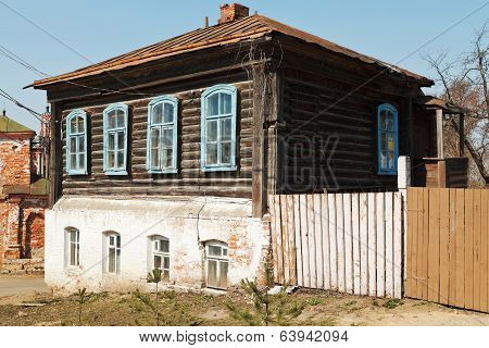 Wooden House Of Nineteenth Century