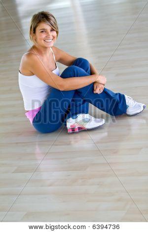 Gym Woman - Portrait