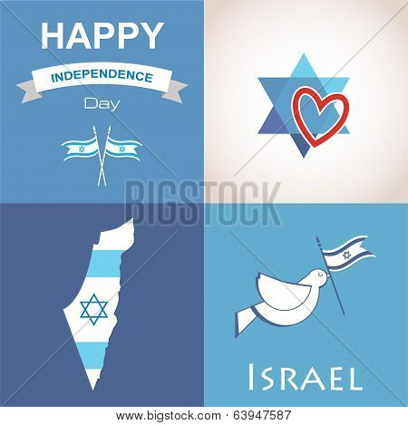 Four icons of Israel