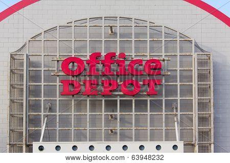 Office Depot Store Exterior