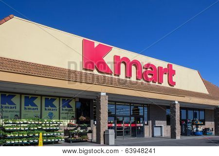 Kmart Retail Store Exterior