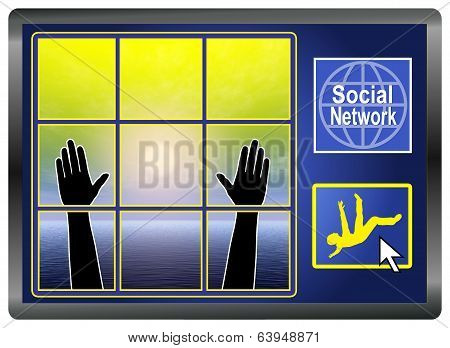 Social Network Depression