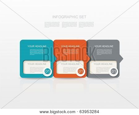 Vector Paper Tags, Labels, Banners
