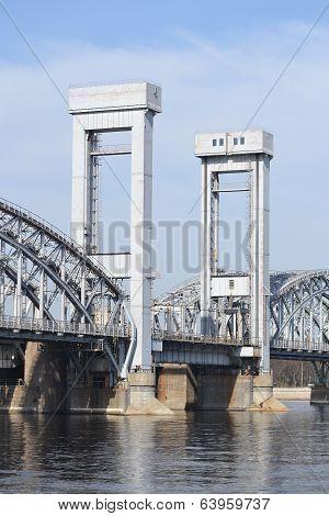 Finland Railway Bridge, St.petersburg.
