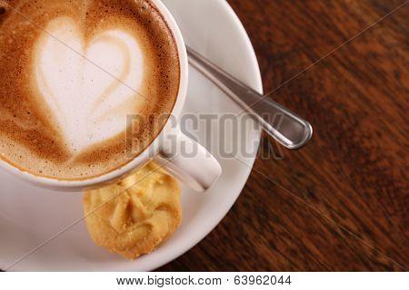 Delicious Aromatic Cappuccino