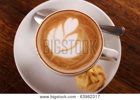 Delicious Aromatic Cappuccino