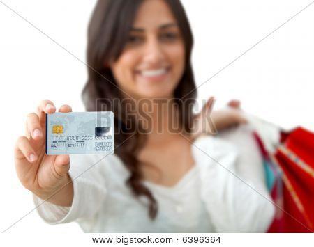 Woman Shooping