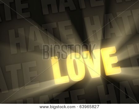 Love Shines Past Hate