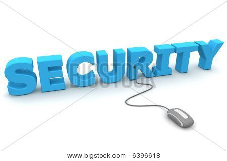 Browse With Security - Grey Mouse