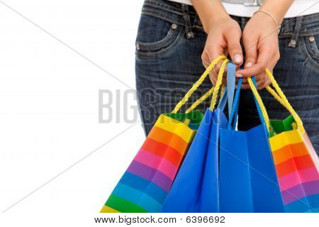 Sacos de compras