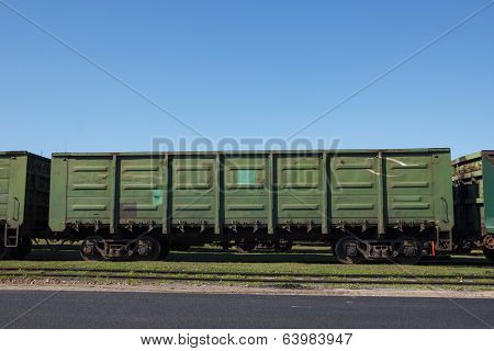 Empty Cargo Wagon