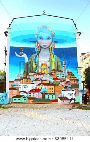 New drawing in Kyiv, Ukraine