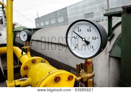 Pressure Gauge Manometer