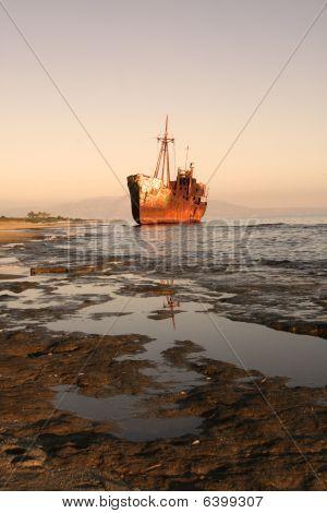 Shipwreck, Greece