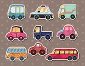 stock photo of beetle car  - Car Stickers - JPG