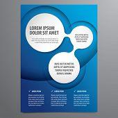 stock photo of insert  - business flyer - JPG
