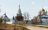 image of rebuilt  - Luzhetsky Monastery founded in 1408 by St - JPG