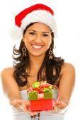 Постер, плакат: Санта женщина
