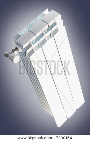 Radiator with thermostat valve
