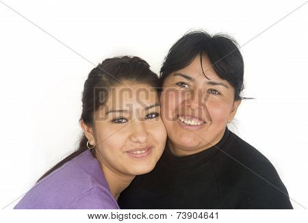 Bolivian Mother And Daughter