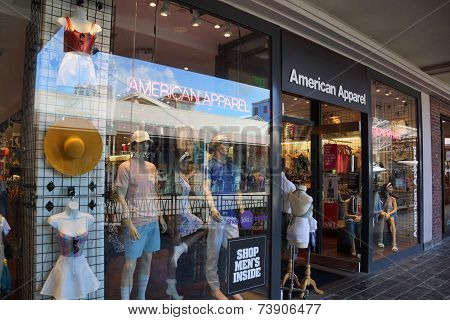 American Apparel Fashion Store  At The Ala Moana Center