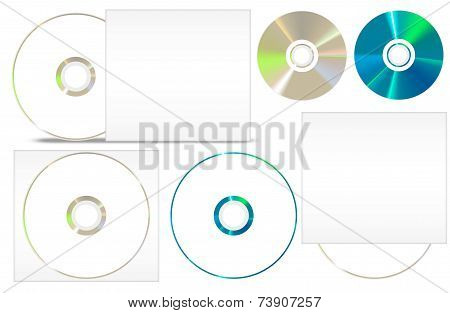 Cd - Dvd Paper Set