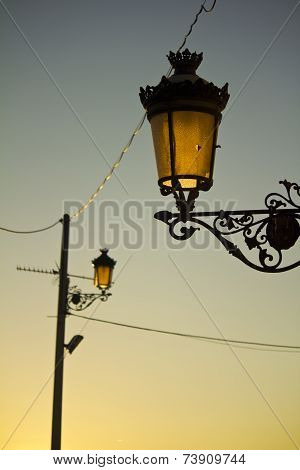 Sunset Lamps