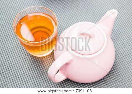 Cold Mix Berry Tea With Ceramic Pot