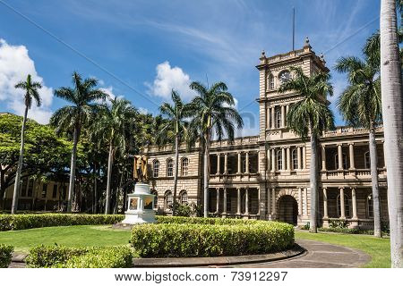The statue of King Kamehameha