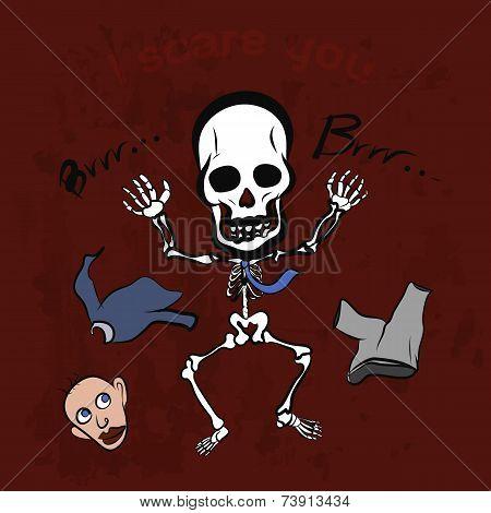 Playful Skeleton