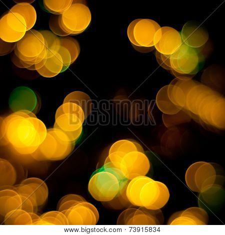 Christmas Blurred Lights.