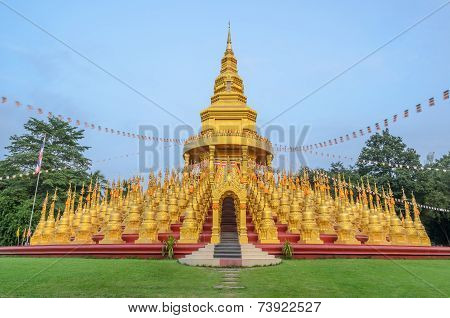 Five Hundred Golden Pagodas