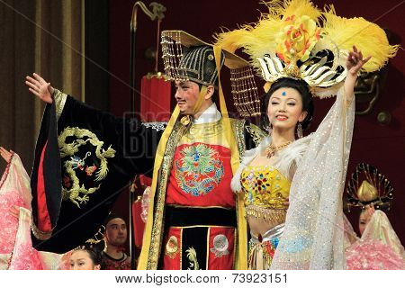 traditional Tang dynasty dance