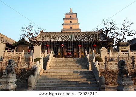 Great Goose Pagoda in Xian