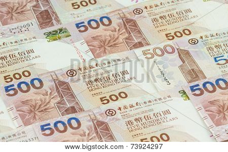 Hong Kong dollars background, Hongkong Dollar is the currency of Hongkong