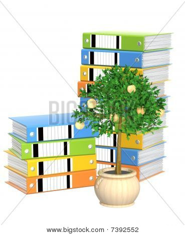 Monetary Tree And Folders