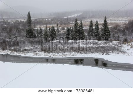 The Beginning Of October In South Yakutia, Russia